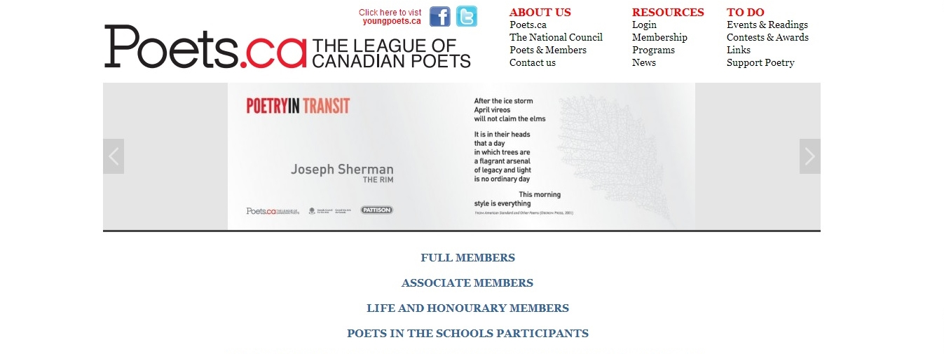 Canadian League of Poets 6