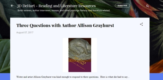 Interviews Allison Grayhurst