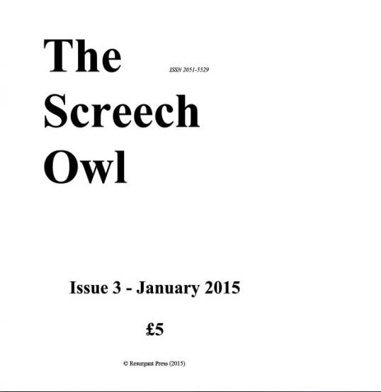 Screech owl issue 3 c