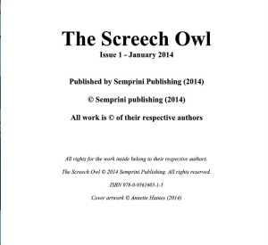 The Screech Owl Only 4
