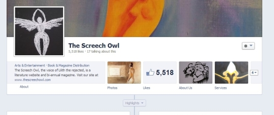 The Screech Owl Only fb 1