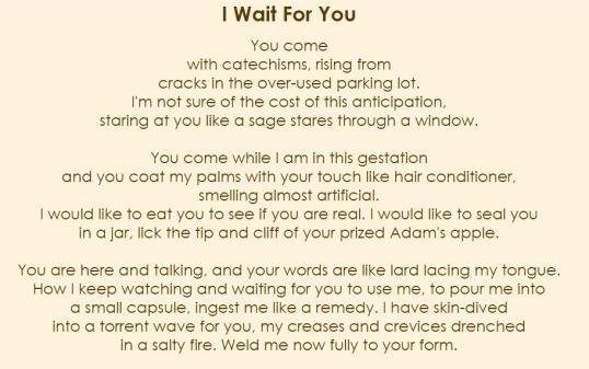 Whisper - I wait for you 1