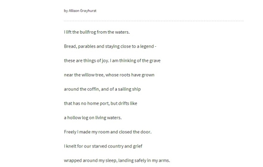 Boston poetry in the silence 2