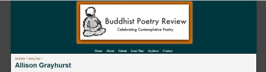 Buddhist Poetry Review