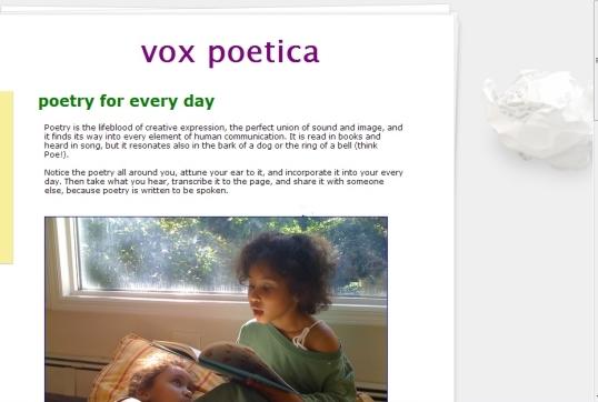 vox poetica 2