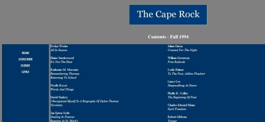 The Cape Rock 1