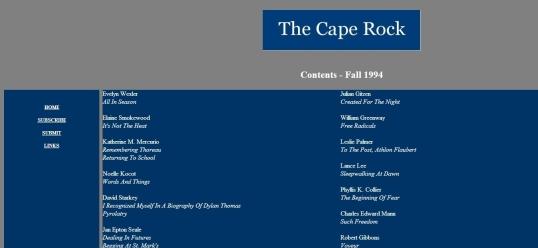 The Cape Rock 1