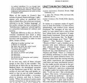 coomon dream book review
