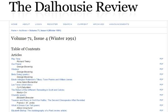 Dalhousie 1