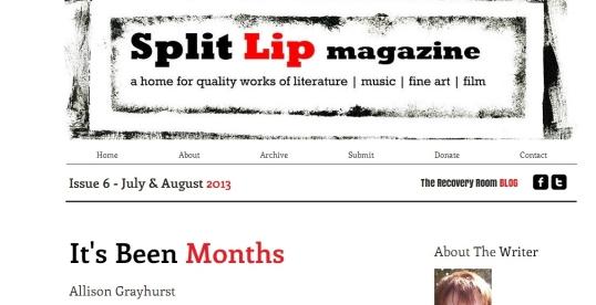 Split lip 1