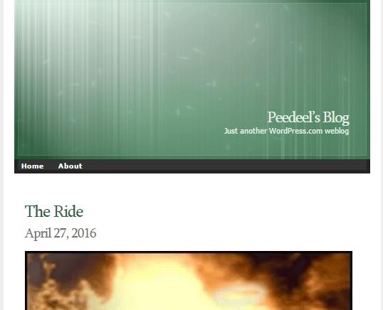 Peedeel's blog the Ride 1