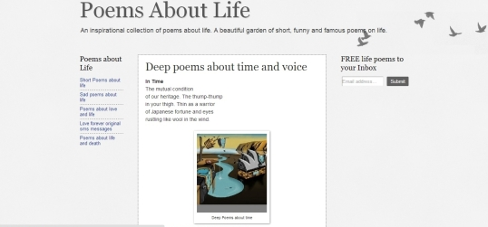 Poems About Life In Time 3