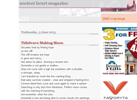 ancient heart magazine 1