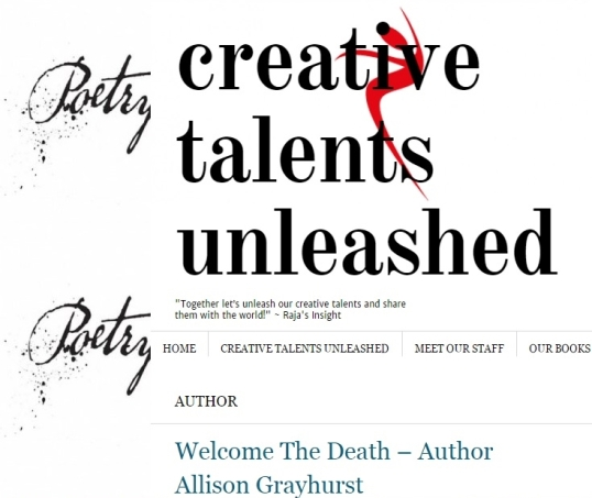Creative Talents Unleased Welcome the Death 1