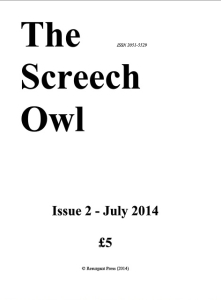 Screech owl issue 2 d