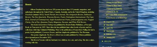 Poetry Pacific - bio