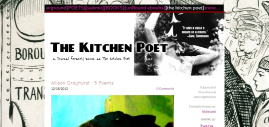 The Kitchen Poet