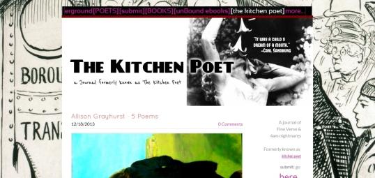 The Kitchen Poet
