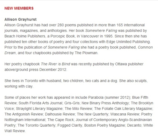 League of Canadian Poets newsletter2