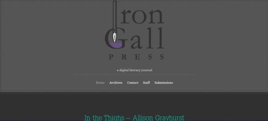 Iron Gall Press 1
