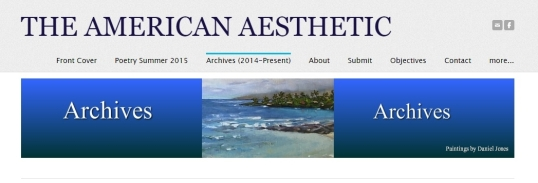 American Aesthetic Archives 1