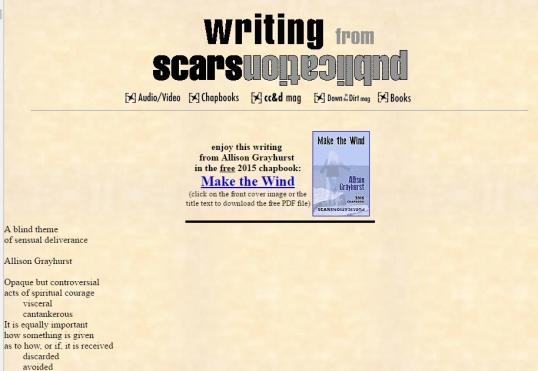 Scars a blind theme 1