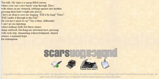 Scars Voice 3