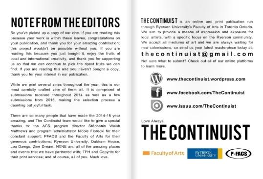 The Continuist book Creativity 2