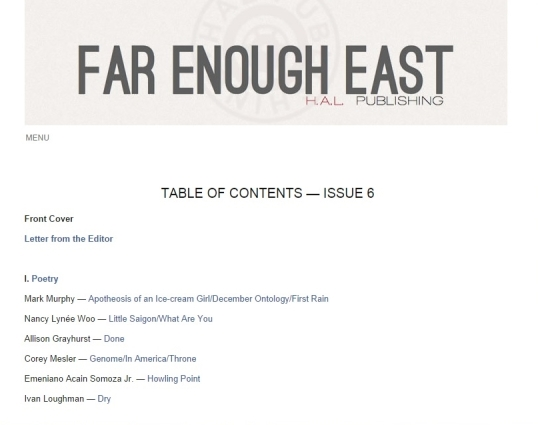 Far Enough East 2