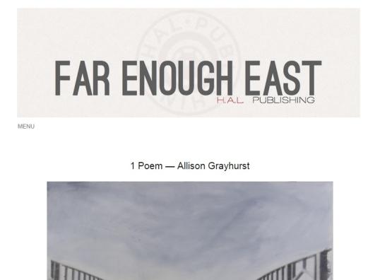 Far Enough East 3