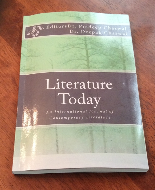 Literature Today cover