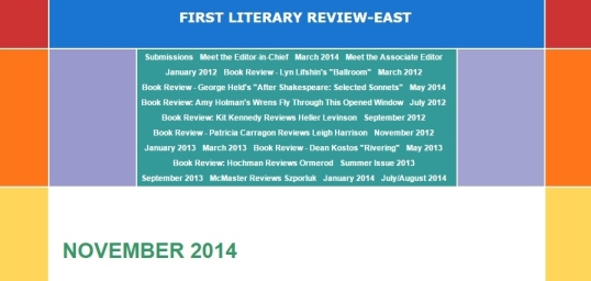 First Literary Review-East