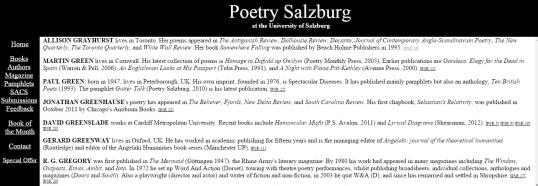 Poetry Salzburg Review 6