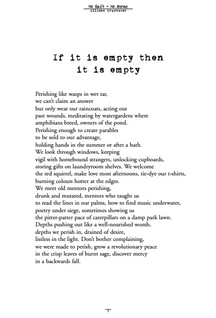 if it is empty