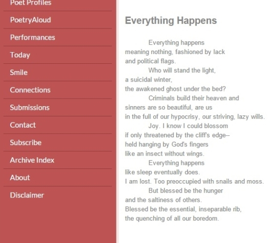 Versewrights everything happens
