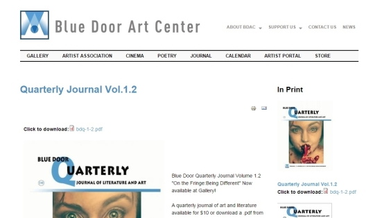 Blue Door Quarterly 6