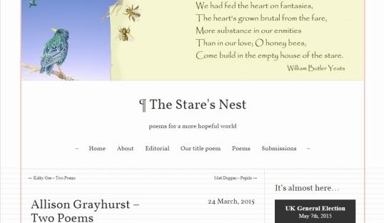 The Stare's Nest 1