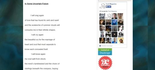 Tuck Magazine In Some Uncertain Future 1