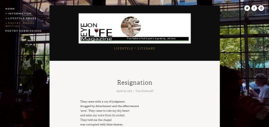 Eye on Life Resignation 1
