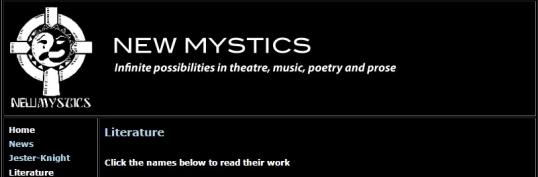 New Mystics 1