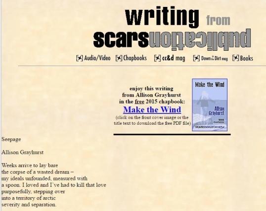 Scars Seepage 1