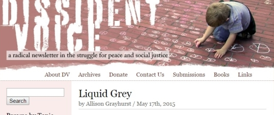 Dissident Voice Liquid Grey 1