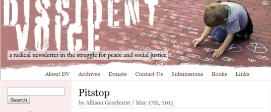 Dissident Voice Pitstop 1