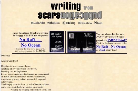 Scars deciding