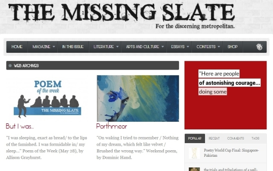 The Missing Slate 5