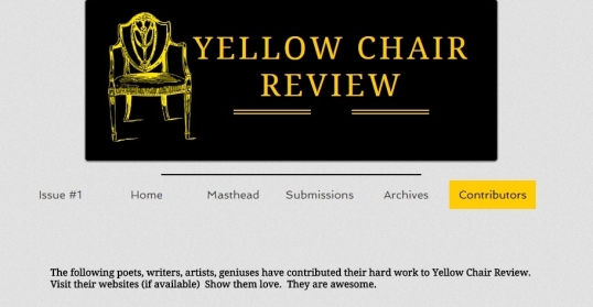 Yellow Chair Review Contributors 1