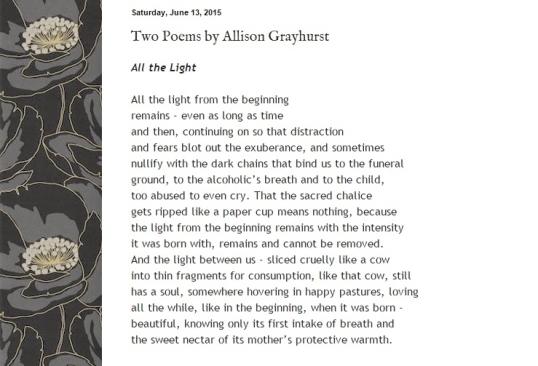 Black Poppy Review - All the Light