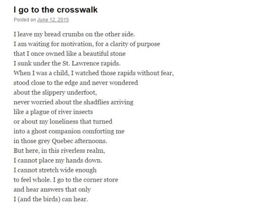 Eunoia Review I go to the crossroads 2