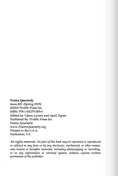 Poetry Quarterly 5