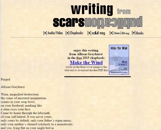 Scars purged 1